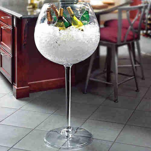 Wine Racks Choosing The Right Wine Rack For You | Giant wine glass ...