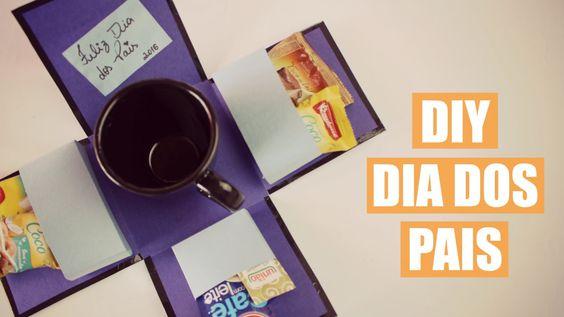 DIY Dia dos Pais (Caixa de Café da Manhã) | Larissa Vale