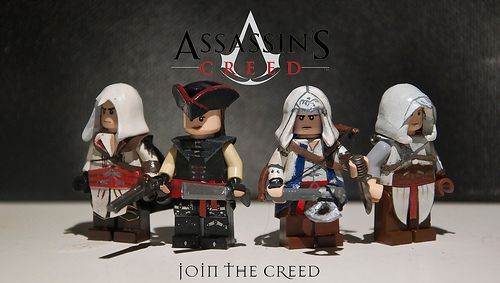 Assassins Creed Custom Minifigures for the latest computer games at great prices http://multicitygames.com