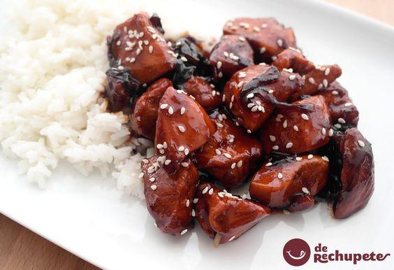 C mo preparar pollo teriyaki de manera f cil y r pida - Como preparar pinchos de pollo ...