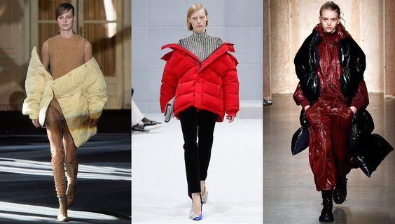 Tendance mode automne-hiver 2016-2017 Doudounes en ville: