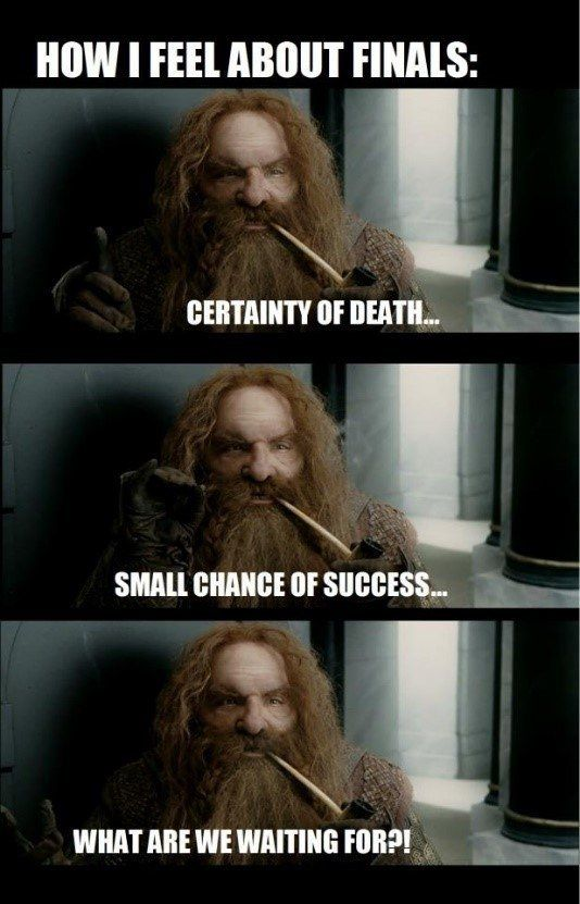 That S A Mood Right There School Funny Memes Finals Humor Lotr Funny