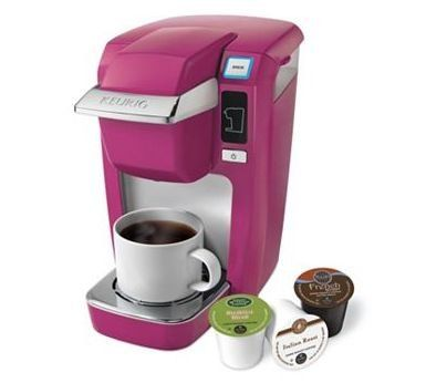 Keurig K10 Mini Plus Coffee Brewer- Mauve Pink Keurig,http://www.amazon.com/dp/B00EVXIYV4/ref=cm ...