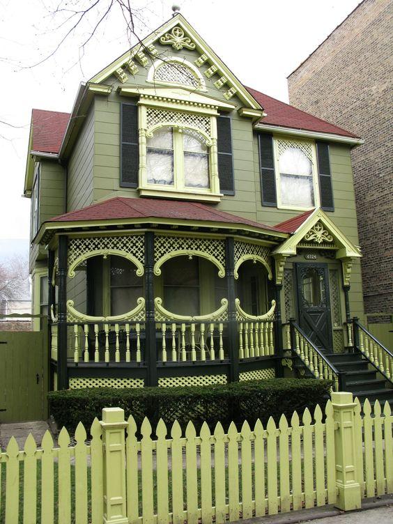 Chicago Victorian. http://www.pinterest.com/njestates1/victorian-homes/ Thanks To http://www.njestates.net/real-estate/nj/listings