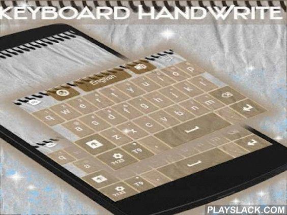 """GO Keyboard HandWrite  Android App - playslack.com ,  We leven in het digitale tijdperk , maar sommigen van jullie nog steeds leuk om te schrijven met de hand , dus dit thema is op uw gedachte : GO KEYBOARD Handgeschreven ! DOWNLOADEN GO Keyboard Handgeschreven en genieten van de koele geest !- Om te installeren , volg gewoon de 3 stappen : open na het downloaden , drukt u op """"Instellen als Active Theme"""" en selecteer het thema van de volgende pagina !- De verbazingwekkende HD screenshots…"""