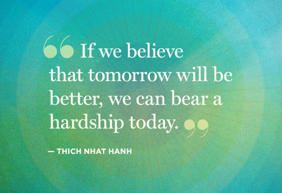 Tomorrow will be better...