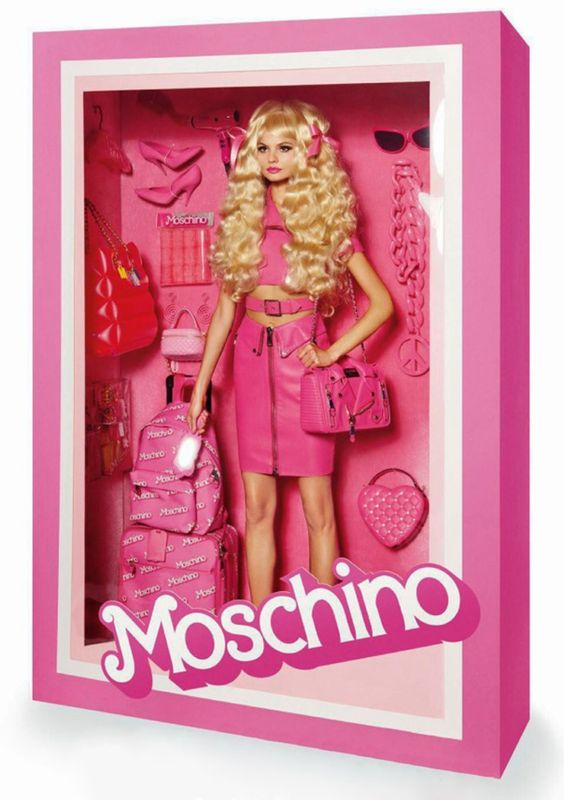 Magdalena Frackowiak is Moschino Doll by Claire Dhelens & Celia Azoulay and Giampaolo Sgura for Vogue Paris, January 2015.