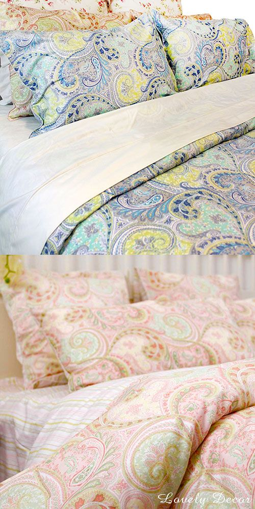Have An Awesome Weekend Paisley Duvet Girls Duvet Yellow Room