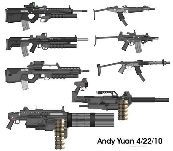 Rifles From Pimp My Gun 10 By C Force On Deviantart