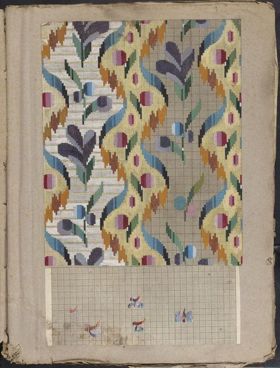 Folio of embroidery designs