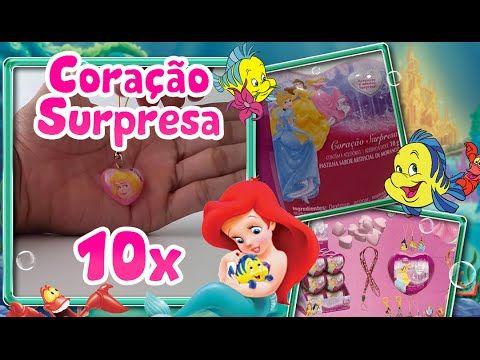 Abrindo Ovos Surpresa Disney Princesas DTC com Acessórios para Meninas