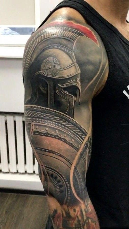 Half Sleeve Tattoos Halfsleevetattoos Tribal Sleeve Tattoos Warrior Tattoo Sleeve