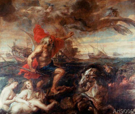 Peter+Paul+Rubens+-+Quos+ego!-Neptune,+calming+the+Waves