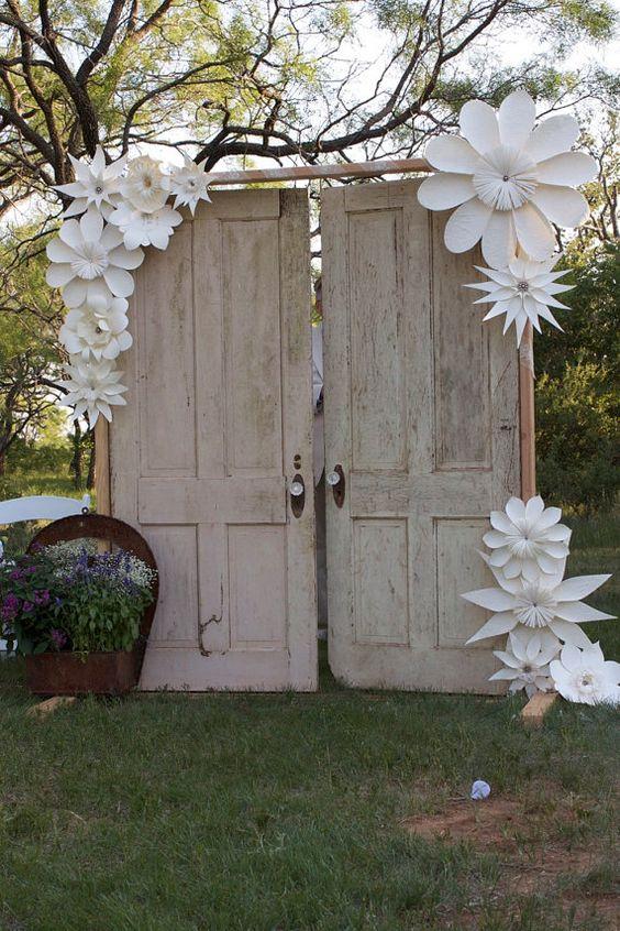 wedding the doors and flower on pinterest. Black Bedroom Furniture Sets. Home Design Ideas