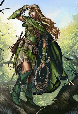 Wood Elves D Amp D Google Search Fantasy Races Pinterest