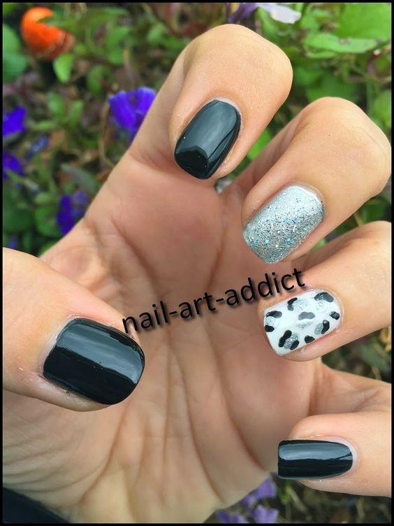 Nail Art : Leopard by Marine http://www.nail-art-addict.blogspot.fr/2015/03/defi-du-mois-leopard-nails-by-marine.html