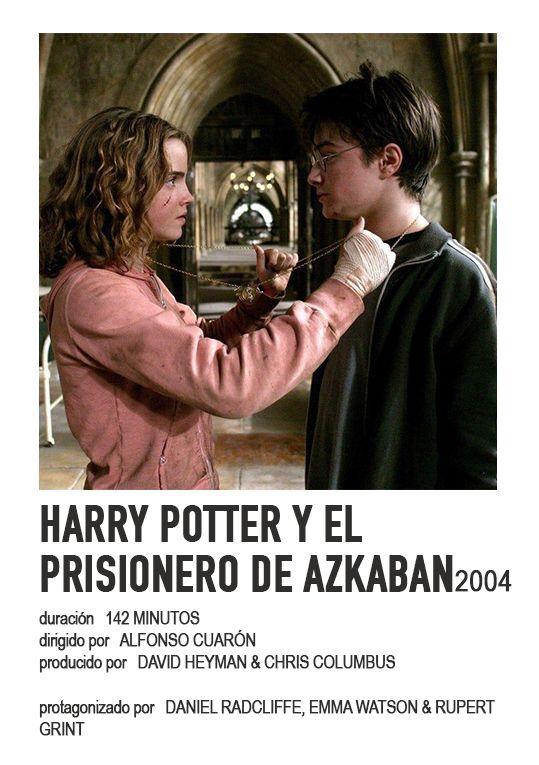 Poster Harry Potter Y El Prisionero De Azkaban En 2021 Prisionero De Azkaban El Prisionero De Azkaban Portadas De Peliculas
