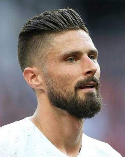 How To Get The Olivier Giroud Haircut World Cup 2018 Olivier Giroud Hairstyle Hair Myth Haircuts For Men