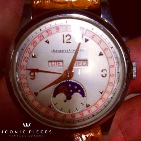 #jaegerlecoultre #moonphase #lecoultre #jlc #annualcalendar #iconicpieces #vintagewatches #watches #menwatches