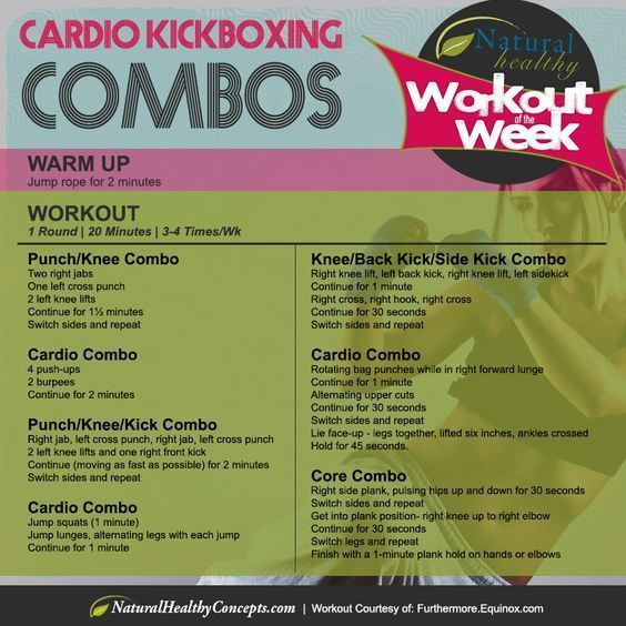 The Calorie Blasting Kickboxing Workout Kickboxing Workout