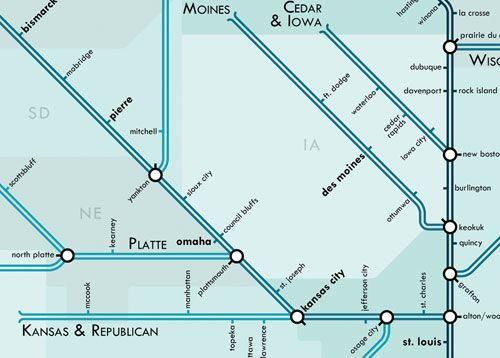 Mississippi Metro Map