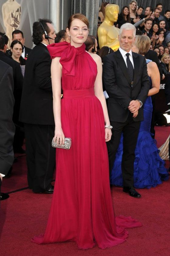 Emma Stone at the 2012 Oscars (she is always spot on!)
