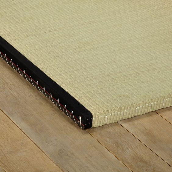 Natte de jonc 80x200cm Brun - Tatami - Les futons et tatamis - Les matelas et sommiers - Chambre - Décoration d'intérieur - Alinéa