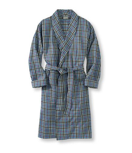 Men's Scotch Plaid Flannel Robe | Free Shipping at L.L.Bean