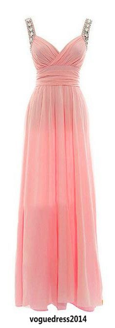 Bridesmaid dress so pretty except hot pink! FAVORITE