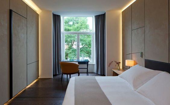 Conservatorium hotel by Piero Lissoni, Amsterdam   Netherlands hotel hotels and restaurants