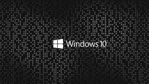 4k Black Wallpapers For Windows 10 09 Of 10 With Dark And Gray Mosaic Background Papel De Parede Do Windows Windows Papeis De Parede