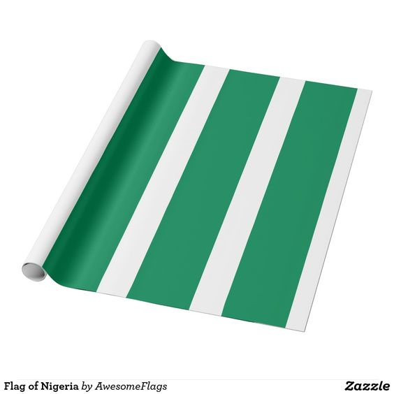 Flag of Nigeria Wrapping Paper