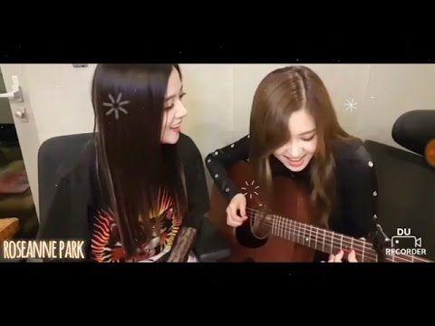 Blackpink S Rose Jisoo Sang Stay Youtube Blackpink Rose Singing Blackpink
