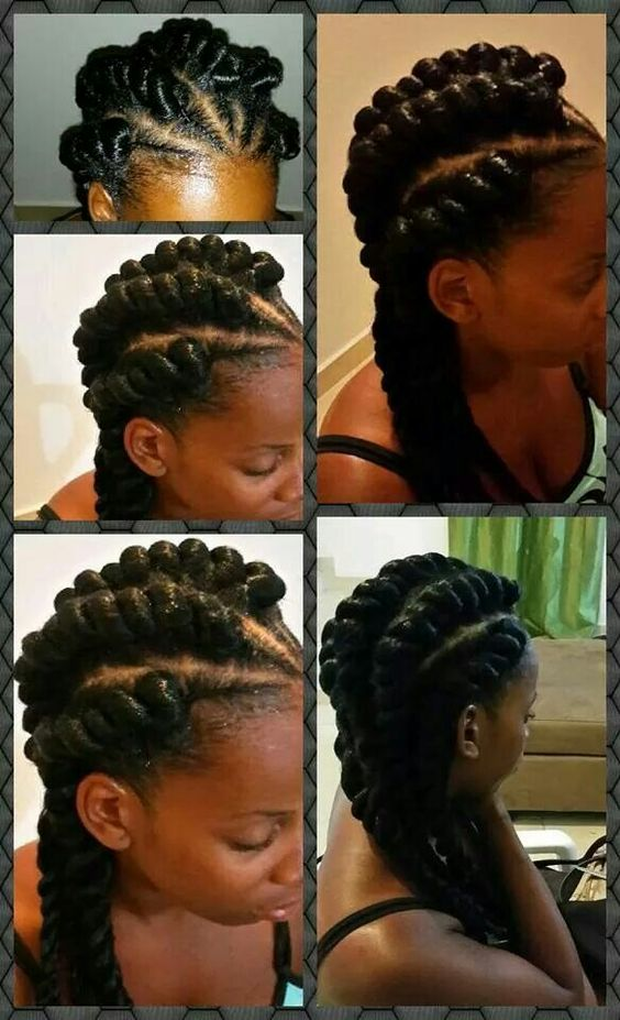 Pleasing Twists Ropes And Cornrow On Pinterest Hairstyle Inspiration Daily Dogsangcom