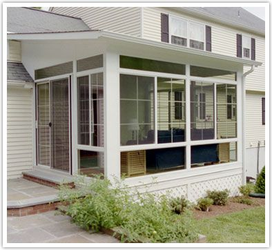 Sunrooms Building Plans And Woodworking Plans On Pinterest