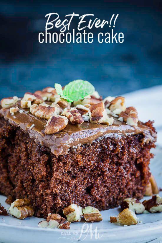Best Ever Homemade Chocolate Cake Recipe In 2020 Buttermilk Chocolate Cake Buttermilk Dessert Recipes Buttermilk Recipes