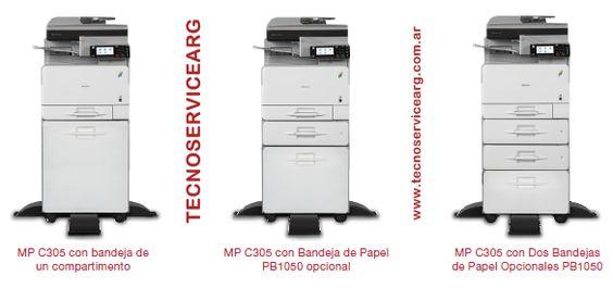 fotocopiadora ricoh aficio mp c305 para la oficina se