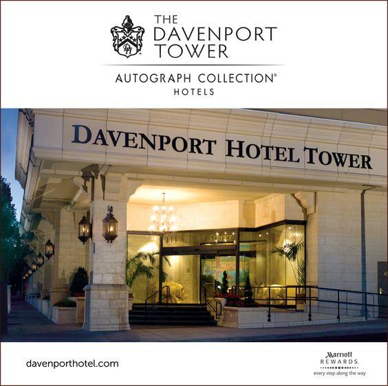 The Davenport Tower Safari Room Davenport Hotel Hotel