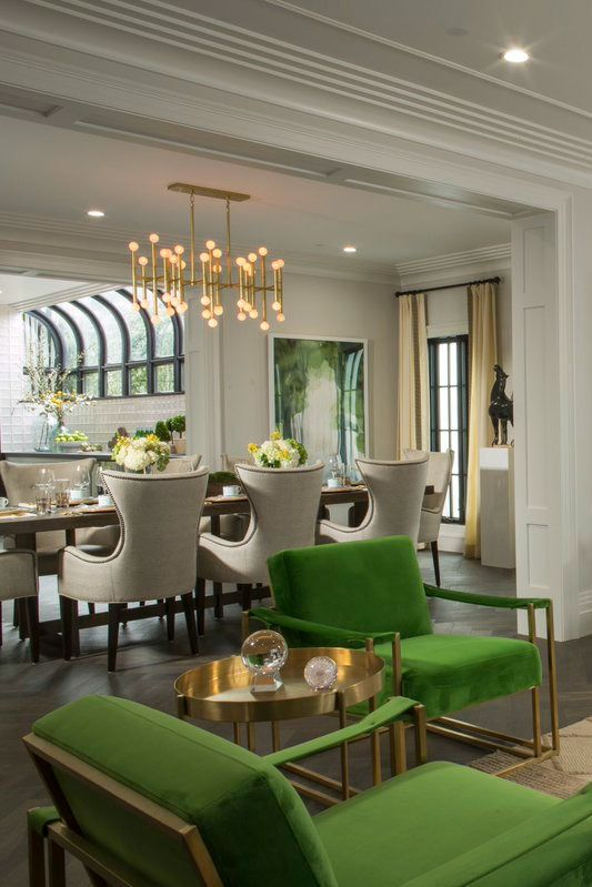 Shop Drew S Honeymoon House Dining Room Resource Guide Sources Hello Lovely Living Room Green Honeymoon House Green Dining Room