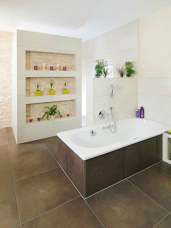 die besten ideen zu bad gestaltung wohnung bad und badezimmer fliesen braun auf pinterest. Black Bedroom Furniture Sets. Home Design Ideas