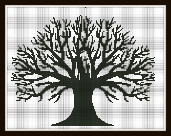 Counted Cross Stitch Tree Patterns | Item Details Reviews (42) Shipping & Policies