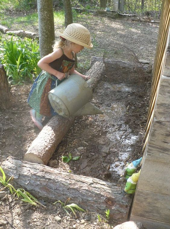 The Enchanted Tree: Natural Play Space.: Mud Space, Playspace Ideas, Cool Ideas, Natural Play Spaces, Space Natural