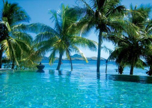 Pool at Tororiki Island, Fiji