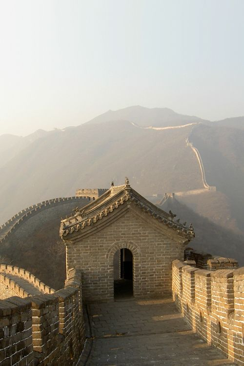 The Great Wall of China - taken a dawn before the crowds are let in.  They say you're not a true Chinese if you've never been to the Wall.  It is an incredible site.  Somehow I've gotten to visit it 3 different times.  And every time I'm blown away.