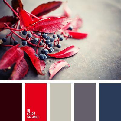 алый, бордовый, красный, насыщенный красный, подбор цвета, подбор цвета в интерьере, серо-фиолетовый, серый, синий, темно-синий, цвет вина, цвет камня, цветовое решение для дома.: