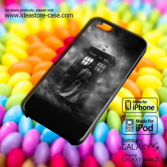 Tardis Doctor Who BW Case for iPhone by hamamerajarela on Etsy, $13.99