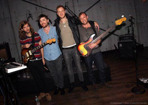 "Imagine Dragons Visits ""Hoppus On Music"" at fuse Studios"
