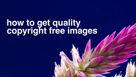 How to get quality copyright free images - ICTEvangelist