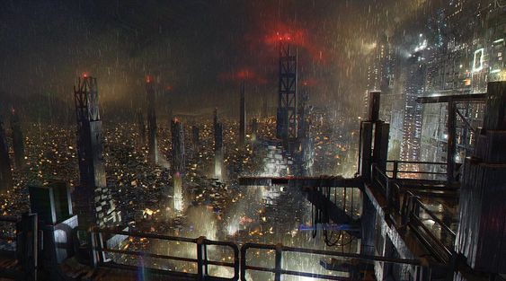 City Skyline - Characters & Art - Deus Ex: Mankind Divided