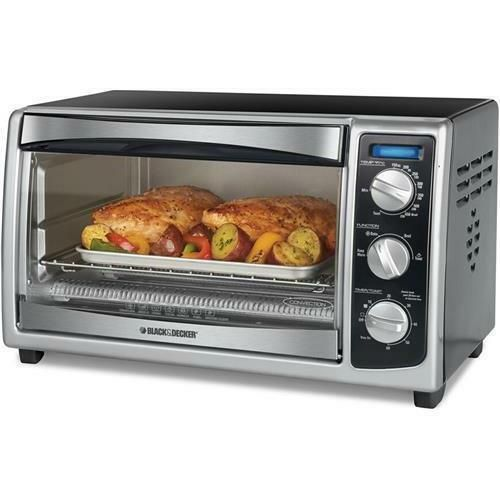 Details About Black Decker To1675b 6 Slice Toaster Oven
